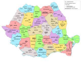 Cum Arăta Harta Romaniei Acum 60 De Ani Ce Judeţe Nu Existau