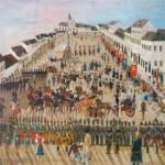1834 – Festivităţile de proclamare a Aradului oraş liber regesc