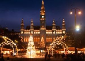 The Christmas city of Vienna