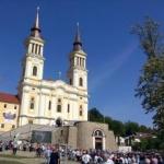 Mii de oameni la Mănăstirea Maria Radna