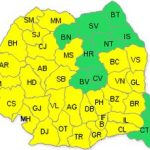 Cod galben de caniculă în județul Arad