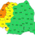 Cod portocaliu de caniculă pentru județul Arad