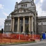 A început reabilitarea Palatului Cultural