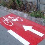 Cum vor fi marcate pistele pentru biciclete în Arad