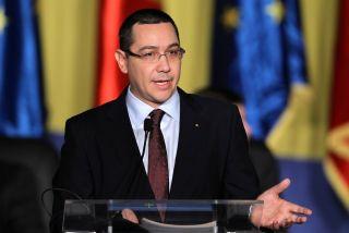 Victor Ponta a fost ales preşedinte al partidului Pro România