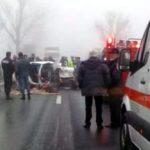 Accident pe DN 7. O femeie a murit, cinci persoane sunt rănite