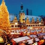 Târgul de Crăciun din Liepzig este unul dintre cele mai vechi din lume.