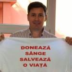 Senatorul Igaș invită arădenii să doneze sânge