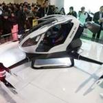 Chinezii au fabricat prima dronă care poate transporta oameni.