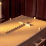 Film porno la o înmormântare