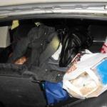 Copil găsit ascuns în portbagaj, la PTF Vărșand