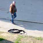 Fotografia zilei: Cedează și trotuarele în Arad