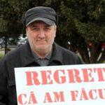 Fotografia zilei: Regretul unui bărbat