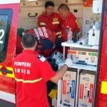 O femeie a fost rănită de un panou publicitar