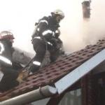 UPDATE: Incendiu la un hotel din orașul Ineu