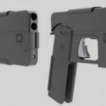 A fost inventat pistolul care seamănă cu o carcasă de Iphone.