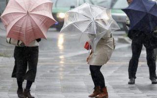 Informare meteo. Ploi şi vânt puternic la nivelul întregii ţări