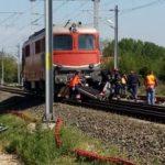 Mașină lovită de o locomotivă la Șofronea. Un bărbat a murit