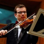 Alexandru Tomescu cu vioara sa Stradivarius, recital la Arad