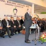 Traian Băsescu, prezent la lansarea candidaților PMP Arad