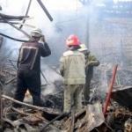 Incendiu la un atelier de tâmplărie din Arad