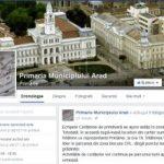 Aradul are primărie de top pe Facebook