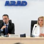 Simona Stan, aleasă vicepreședinte al CJ Arad