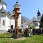 Sfinţire de troiţă la Mănăstirea arădeană Hodoş-Bodrog