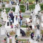 Paştile morţilor 2016: Flori, lumânări, cerşetori şi gunoaie
