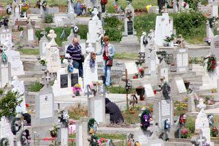 Reguli noi. Resturile vegetale din cimitire se vor arunca în europubele