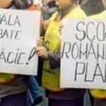 """Proteste la Arad: """"Părinţi, elevi şi profesori, împreună pentru educaţie"""""""