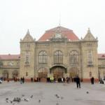 Pasarela din Staţia CFR Arad, deschisă călătorilor
