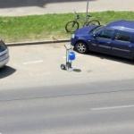 Fotografia zilei: Loc de parcare... rezervat!
