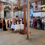 Sfinţire de obiecte la Catedrala Arhiepiscopală