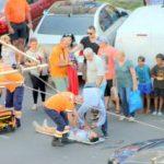 UPDATE: Tânăr lovit de un autoturism, în zona Fortuna