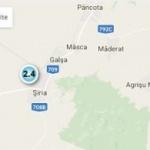 Un nou cutremur a fost înregistrat în județul Arad