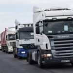 Protest al transportatorilor pe centura Aradului