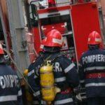 Incendiu într-un bloc din Pâncota