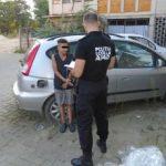 Copii găsiți într-o mașină abandonată