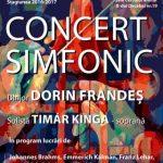 Pagini simfonice și arii de operetă, sub conducerea maestrului Dorin Frandeș