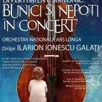 """""""Bunici şi nepoţi în concert"""", o iniţiativă a Asociaţiei Artiştilor Pensionari Ars Longa din Arad"""