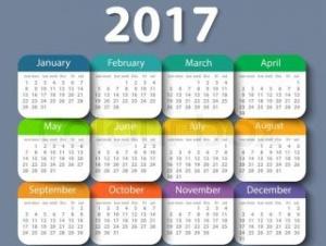 anul 2017 calendar