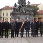 Comemorare în Parcul Reconcilierii din Arad