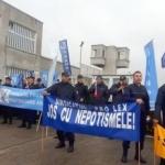 Proteste la Penitenciarul din Arad
