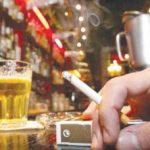 Într-un club din Arad a fost ignorată Legea antifumat