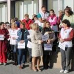 Participanţi la greva de la SJU Arad, chemaţi de acasă