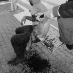 Un tânăr și-a tăiat venele, în centrul Aradului