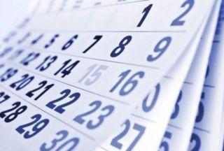 Calendarul zilelor libere în 2018