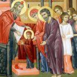 Sărbătoare. Intrarea Maicii Domnului în Biserică