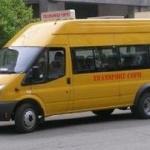 Microbuz școlar, folosit în scop electoral